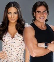 Daniel Arenas y Ana Brenda