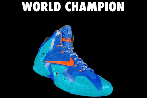A Decade of Moments  NIKEiD LeBron XI 8220World Champion8221