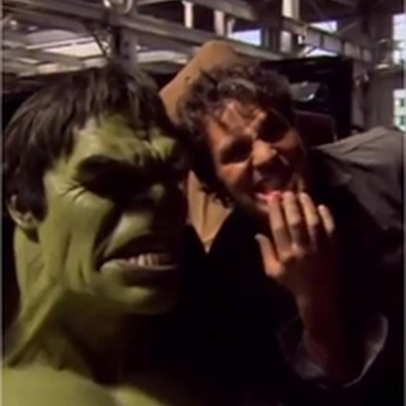 Un detrás de cámara de The Avengers