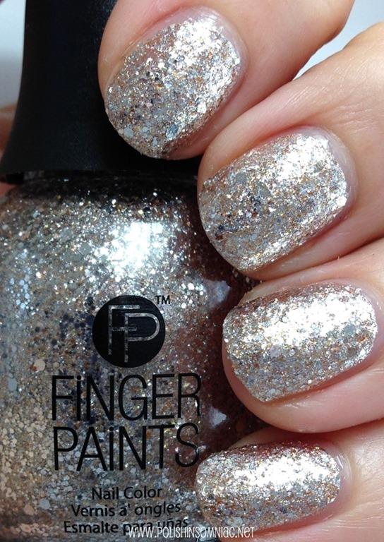 FingerPaints Gilded Chrome