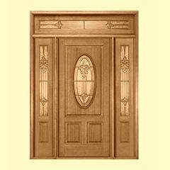 front door facing south