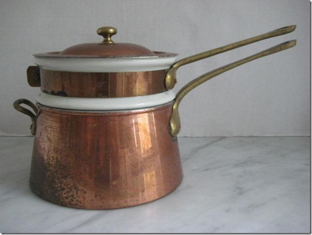 bazar francais double boiler