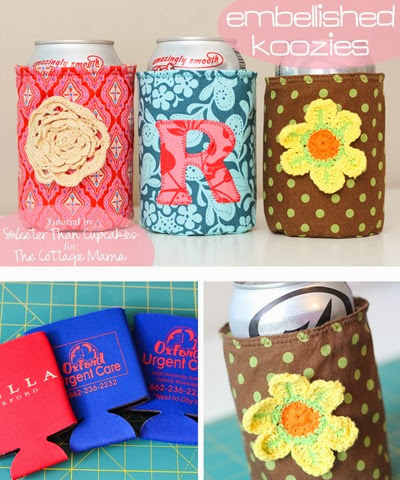Embellished Koozie set