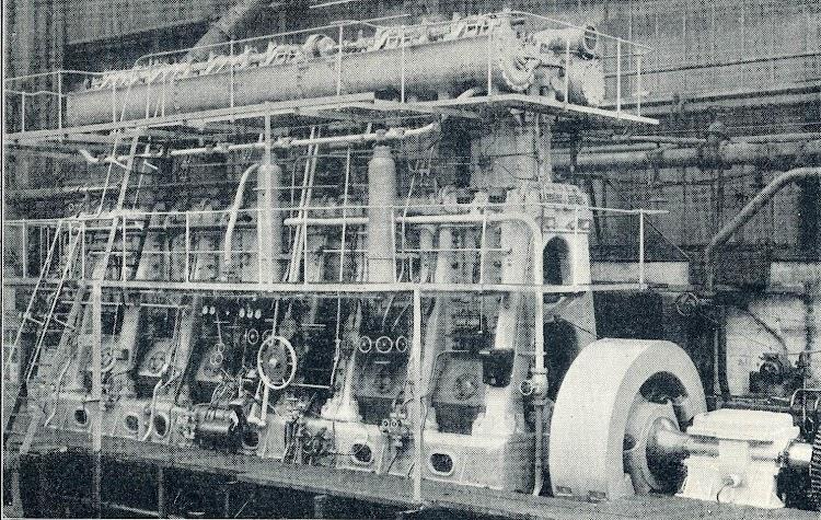 Estación de control del motor. THE MOTOR SHIP. Año 1.923.jpg