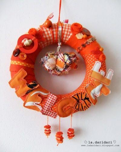 ghirlanda arancione