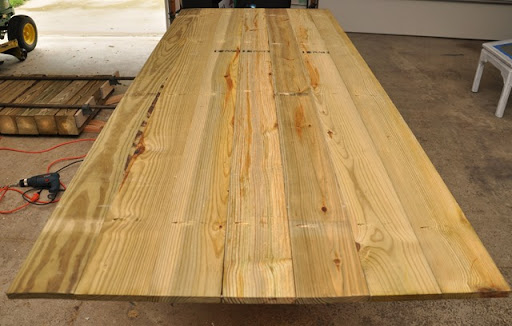 DIY Outdoor Patio Table Tutorial (Farmhouse)