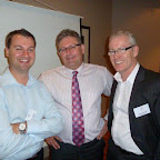 John Jovicevic, Peter Brooks and Andrew Clarkson