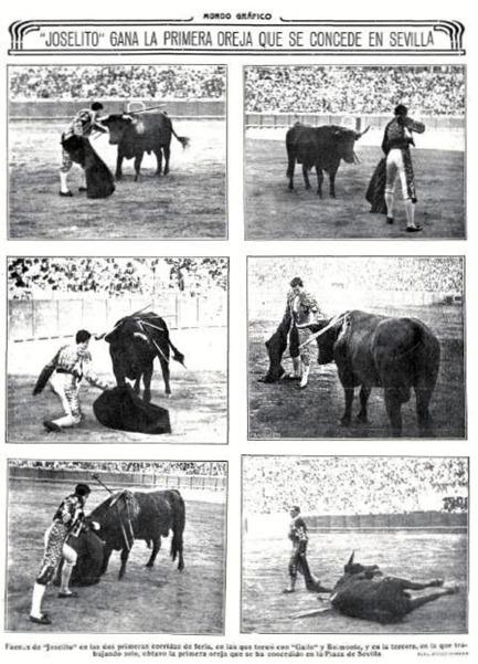 1915-10-06 (p-Mundo Grafico) 1 oreja Sevilla