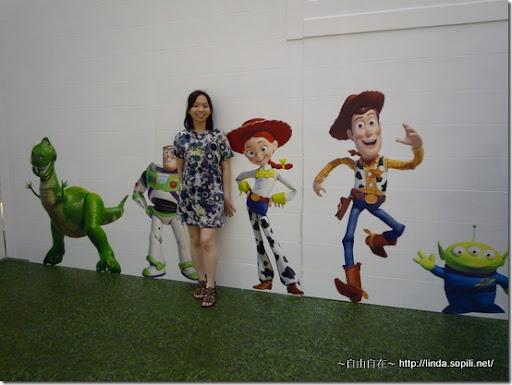 時代廣場-玩具總動員場景4