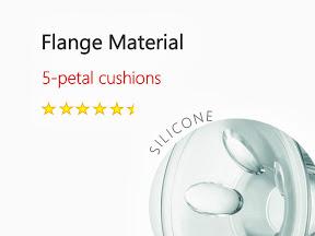 Philips AVENT Comfort 5 petal cushions silicone Breast Pump Ratings.jpg