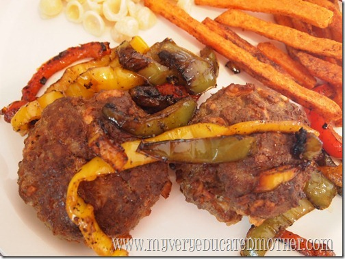 What's for Dinner?  Ketchup-Free Meatloaf Patties