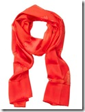 Ferragamo Silk and Chiffon Scarf