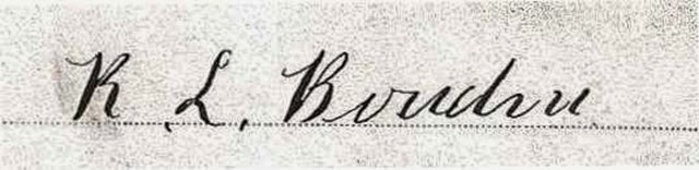 BOWDEN_Robert_signature from marriage record_Ohio_1887