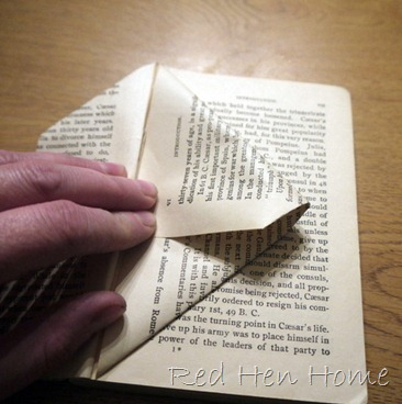 book birdhouse tutorial