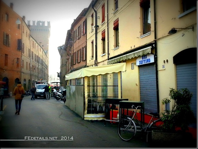 Via Cortevecchia, Ferrara