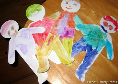 My Many Colored Days Paper Dolls