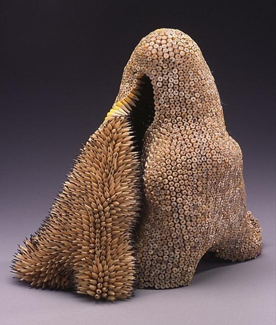 Esculturas de Lápis 04