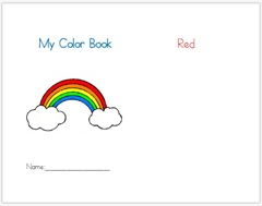 Color Book Template