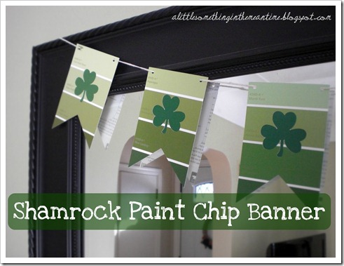 Shamrock Paint Chip Banner