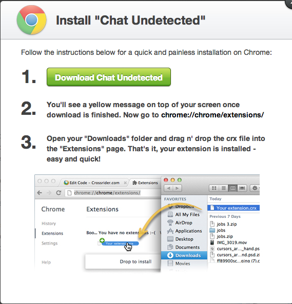 2chat chrome