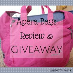 Apera Bags Giveaway