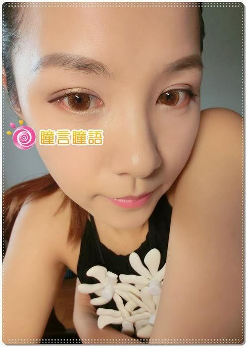 Q眼的小狸貓分享-蜜桃甜心金咖 打造漫畫裡無辜的大眼睛~
