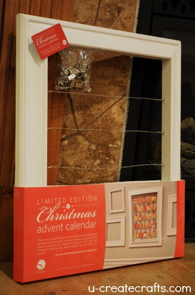 Silhouette Christmas Advent Calendar