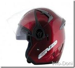 Helm INK Merah Tua