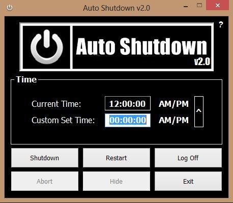 AutoShutdown Rst v2.5