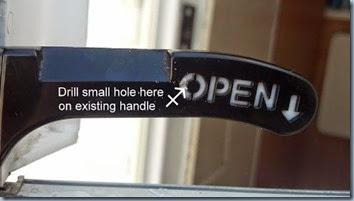 door handle3