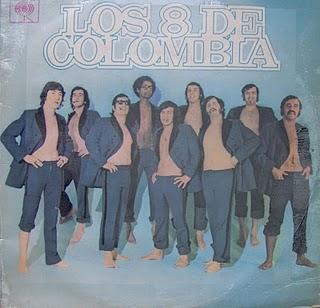 Los 8 de Colombia  Front