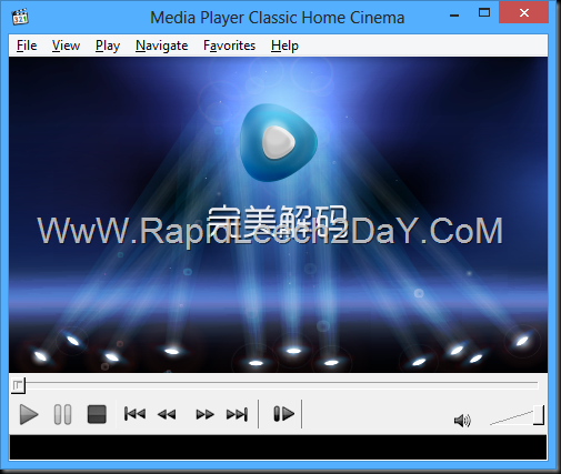 Download Pure Codec Player 2014