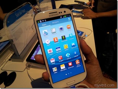 Pelancaran Samsung Galaxy SIII 11