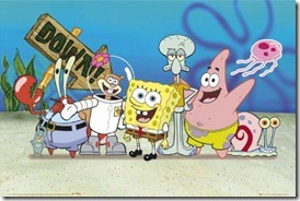 Lgfp1764_spongbob-patrick-sandy-and-squidward-spongebob-squarepants-poster