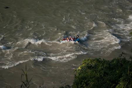 Rafting pe Trisuli