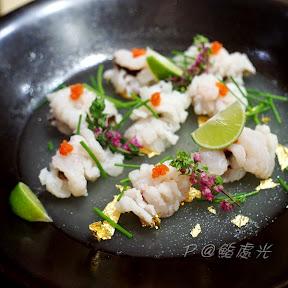 魚凍湯霜鱧魚 @ 鮨処光