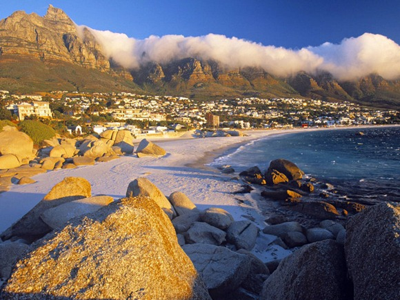 Clifton Bay and Beach_ Cape Town_ South Africa