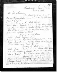 Isaac F. Hurst page 1