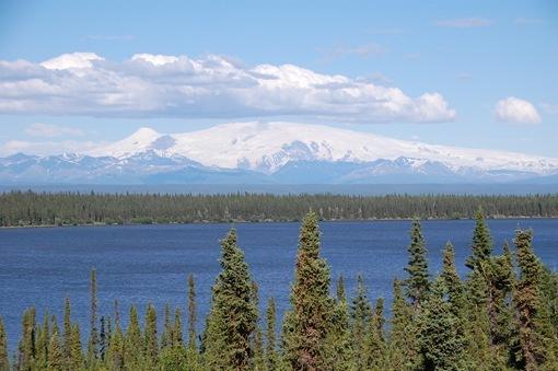 Willow Lake with Wrangell-st Elias NP