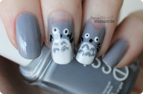 となりのトトロ - My neighbor totoro nailart