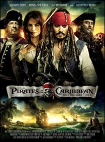Pirates of the Caribbean On Stranger Tides - poster