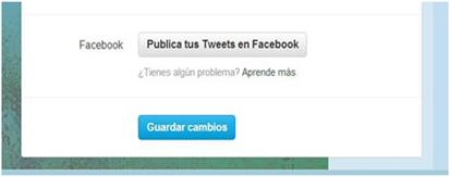 Publica tus tweets en Facebook
