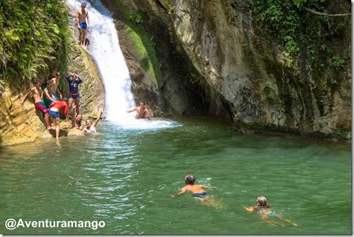 Salto de Caburní no Parque Nacional de Topes de Collantes - Cuba