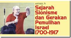 9 Sejarah Sionisme dan Gerakan Pemulihan Israel 1700