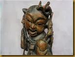 Patung Naca - wajah