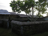 The statue enclosure on the summit of Gunung Muria (Daniel Quinn, June 2010)