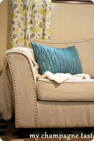 nailhead trim on sofa