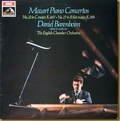 Mozart 27 Barenboim English Chamber