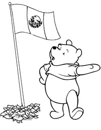 bandera mexico winnie the pooh 2 1
