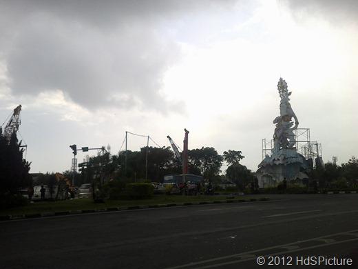 proyek underpass simpang Dewa Ruci (foto ilustrasi diambil oleh tim HdSPicture)